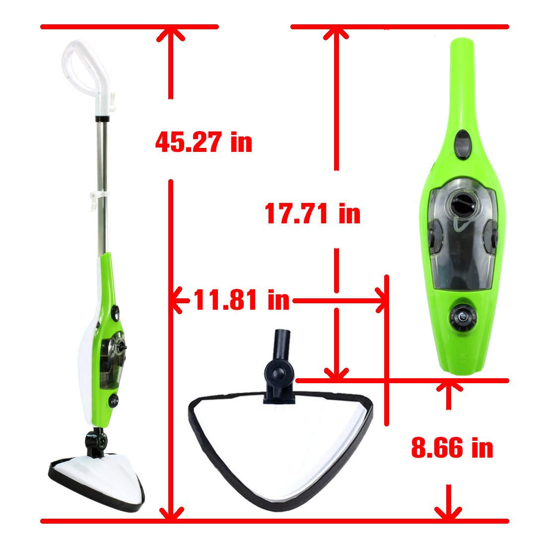 Amazon.com - MissyeeDirect Steam Mop X10 Steam Cleaners for Floor ...