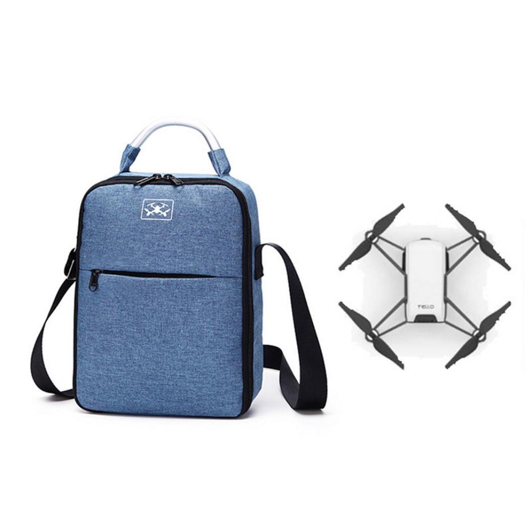 Pochette étanche portable sac à bandoulière Durable Sac à main pour DJI tello de sansee Noir