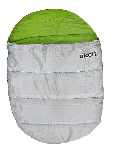 Alcott Explorer - Saco de Dormir para Perro, tamaño pequeño/Mediano, Color Gris