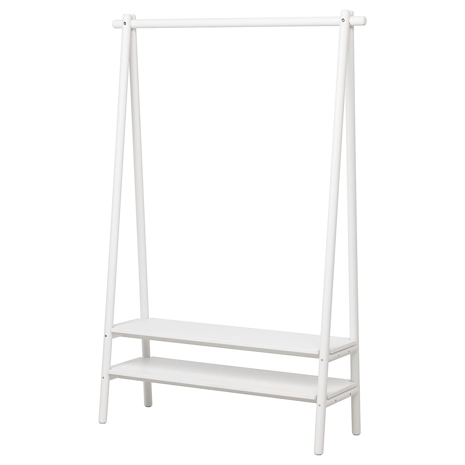 IKEA ASIA SPANST - Perchero para Ropa, Color Blanco: Amazon ...