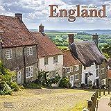 England Calendar - Calendars 2019 - 2020 Wall Calendars - Photo Calendar - England 16 Month Wall Calendar by Avonside (Multilingual Edition)