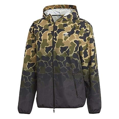 191ca0c27acb40 adidas Camouflage Windbreaker Herren Jacke Multco M