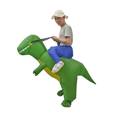 BigTree Disfraz Hinchable de Dinosaurio para Fiesta de ...
