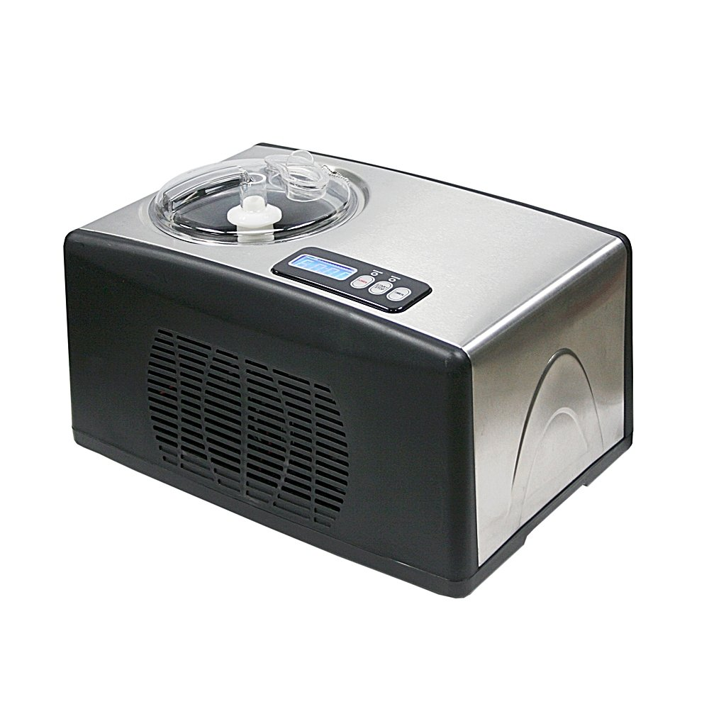 Whynter ICM-15LS Ice Cream Maker, Stainless Steel