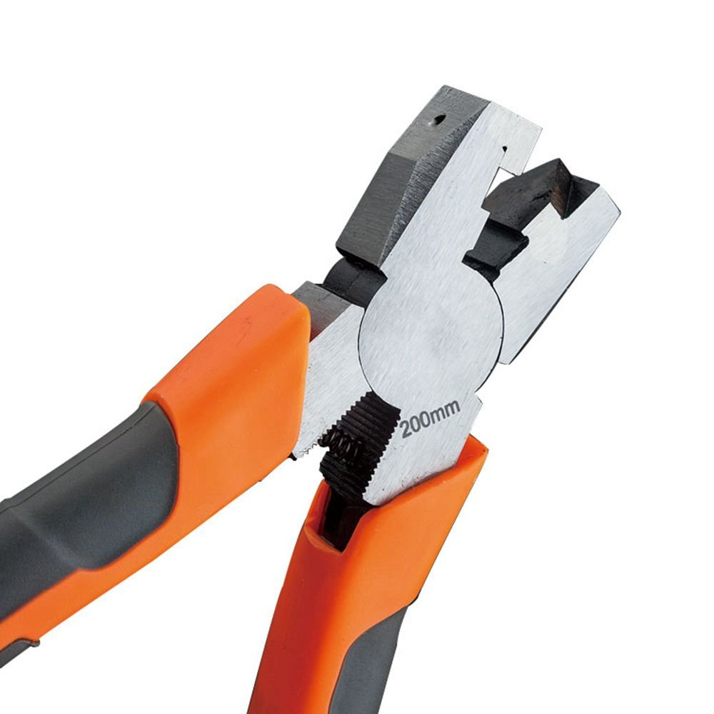 LUBAN Diagonal Cutters 8'' V-Notch Pliers for Bending Aluminum & Alloy Frames Fold Picture Frames