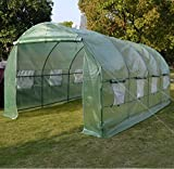 BenefitUSA Replacement Cover for 20'X10'X7' Green House Walk In Outdoor Plant Gardening Greenhouse Larger (Frame Does Not Included)
