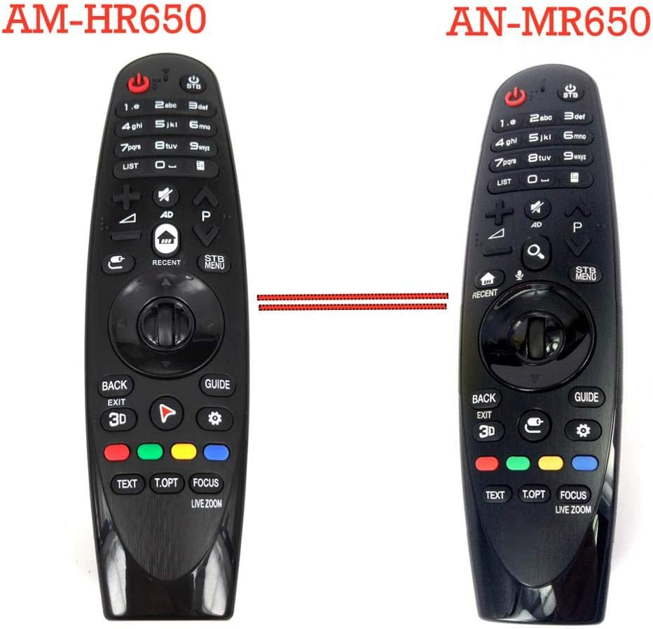 Calvas NEW AM-HR650 AN-MR650 Rplacement for LG Magic Remote Control for 2016 Smart TVs UH9500 UH8500 UH7700 Fernbedienung