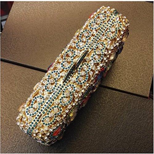 Gamme Soirée Pour Haut Diamant De Embrayage Femme Diamant En De A De Luxe Sac pq7wRf