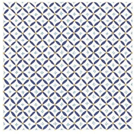 Kohler K14207RTW Russian Teacup Decorative Field Tile In White (Kohler Decorative Field Tile)