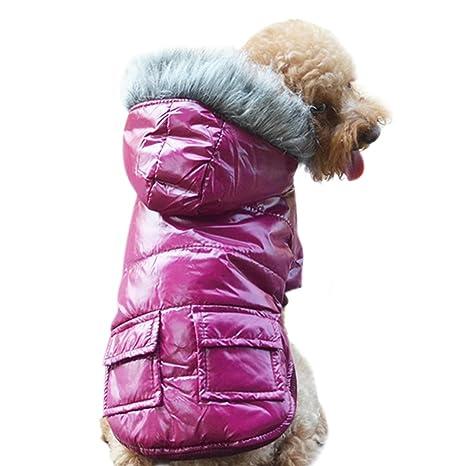 leezo mascota perro Cuello de piel sintética perchero de ...