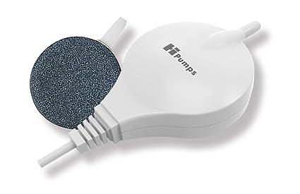 HEYI hpumps Nano Acuarios Bomba de Aire Color Blanco Rectangular 18L/H con tecnología de hochmoderner Piezo