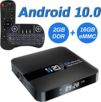 Android TV Box, 2GB 16GB Android 10 Compatible con 4K 3D, RK3229 Dual-WiFi 2.4g / 5g Smart TV Box con Mini Teclado: Amazon.es: Electrónica