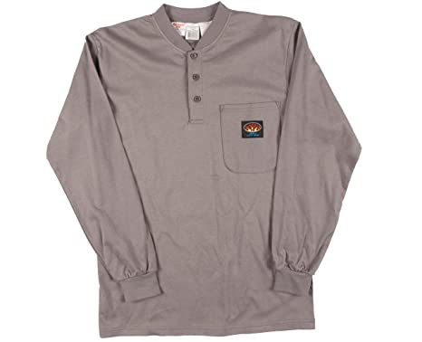 1a44423b1784 Image Unavailable. Image not available for. Color  Rasco Fire Retardant T  Shirt GRAY 100% Cotton