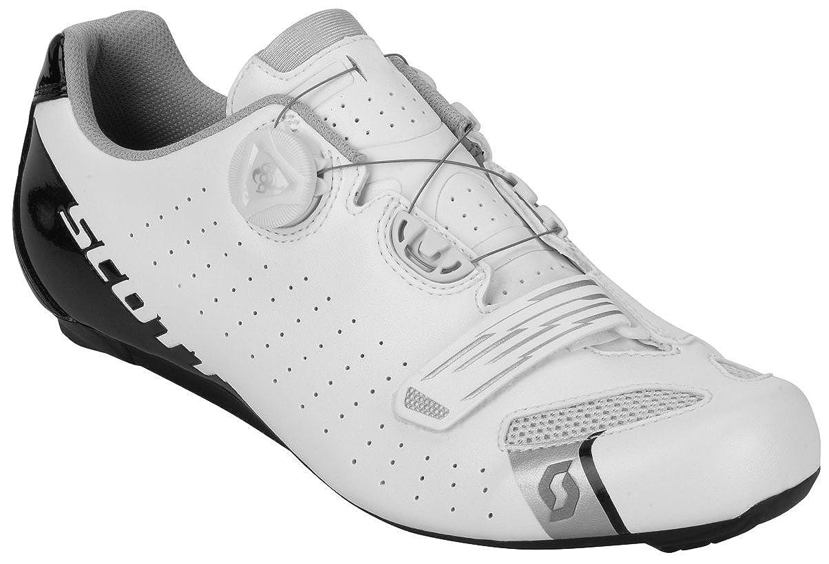 スコット (SCOTT) サイクリング シューズ Scott Road Comp BOA ホワイト/ブラック 40  B075M4NLHG