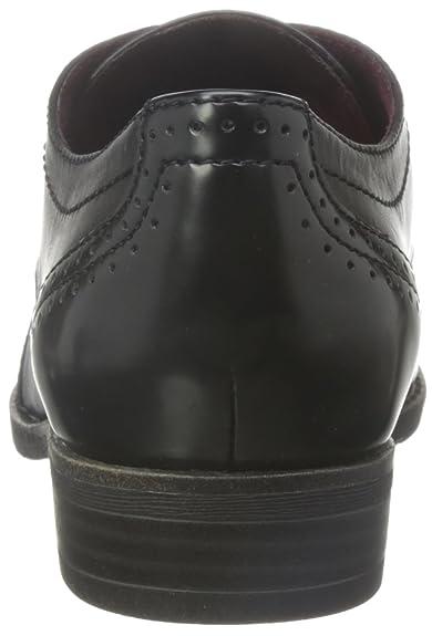 Chaussures Femme 23202 Tamaris 36 Richelieus Noir Eu TYUBBqxH