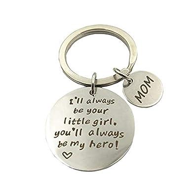Llavero para mamá, madre e hija, siempre seré su niña ...
