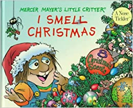 I smell christmas scratch and sniff book little critter for Mercer available loads