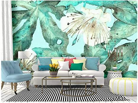 Wallpaper Wall Mural Simple Background Wall Living Room Bedroom Flowers Animal Wallpaper Wall Covering
