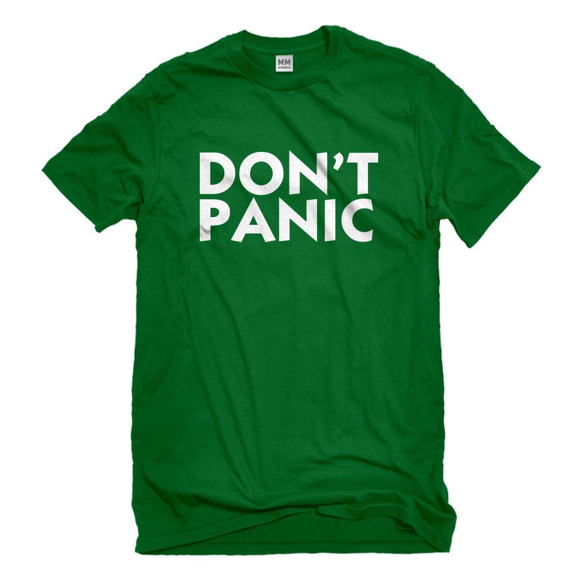 Indica Plateau Don't Panic Mens T-Shirt 3143-M