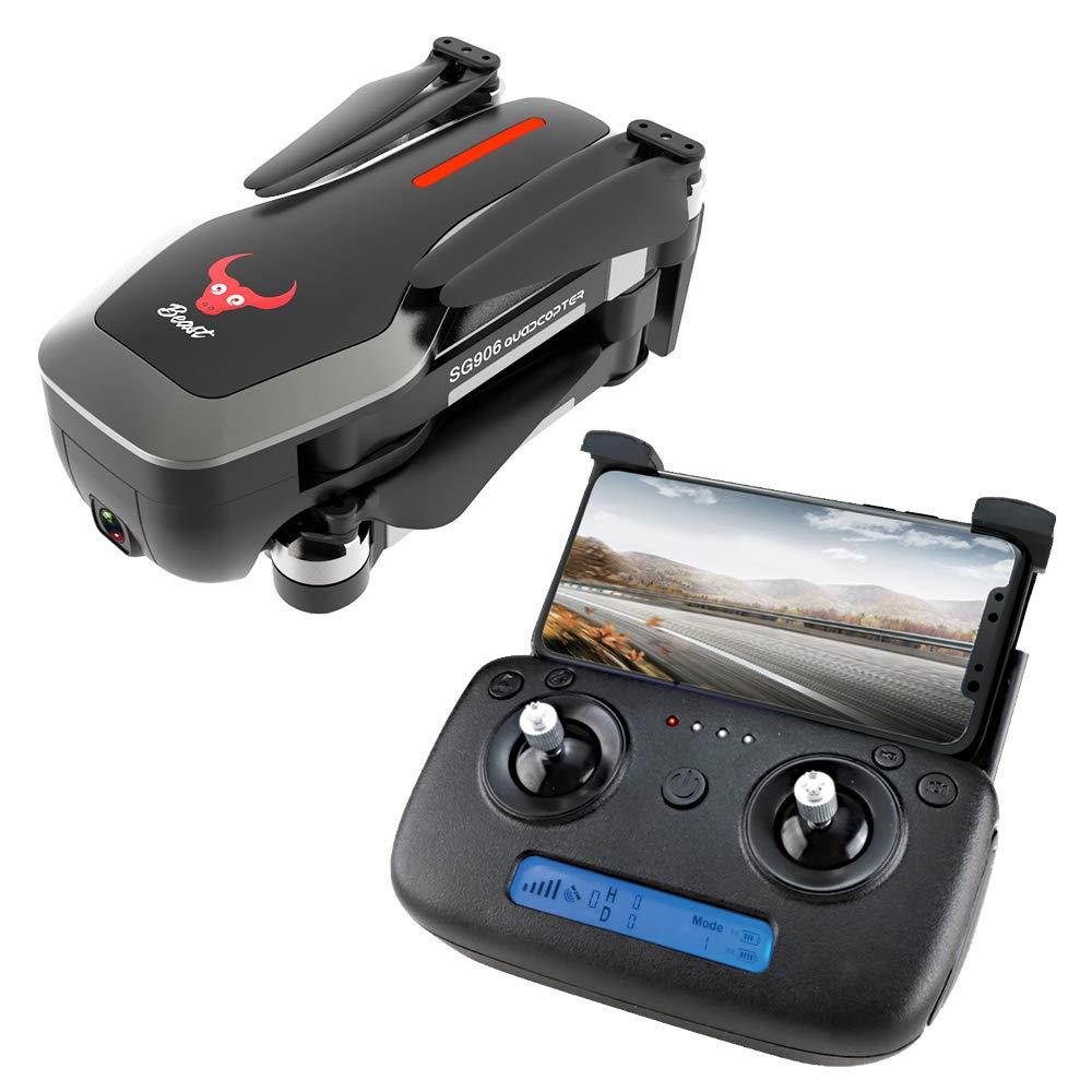 LanLan ZLRC Beast SG906 GPS 5G WiFi FPV mit Ultra klarer 4K-Kamera Brushless Selfie Faltbarer RC-Drohne-Quadcopter schwarz2 Batterie Black2 Batterie