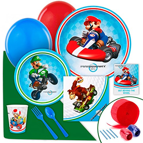 Price comparison product image Mario Kart Wii Value Party Pack Bundle