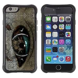 Be-Star único patrón Impacto Shock - Absorción y Anti-Arañazos Funda Carcasa Case Bumper Para Apple iPhone 6 Plus(5.5 inches)( Robot Eye )