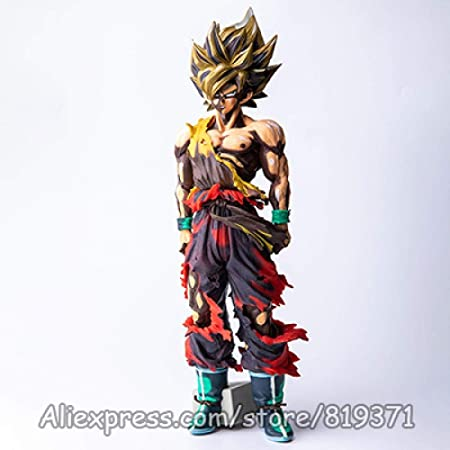 Lkw Love 35cm Anime Dragon Ball Z Vegeta Couleur De Dessin Anime Figure Super Saiyan Goku Manga Dimensions Dragonball Pvc Action Figure Modele Toys Wk2dred Wk2dred Amazon Fr Cuisine Maison