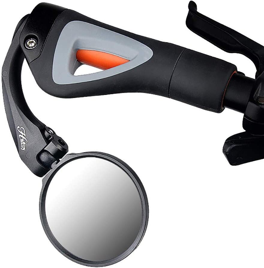 YMYGBH r/étroviseurs v/élo Cyclisme Rearview Guidon Miroirs v/élo Vue arri/ère VTT V/élo v/élo Guidon Flexible arri/ère Vue arri/ère Rearview Miroir de s/écurit/é