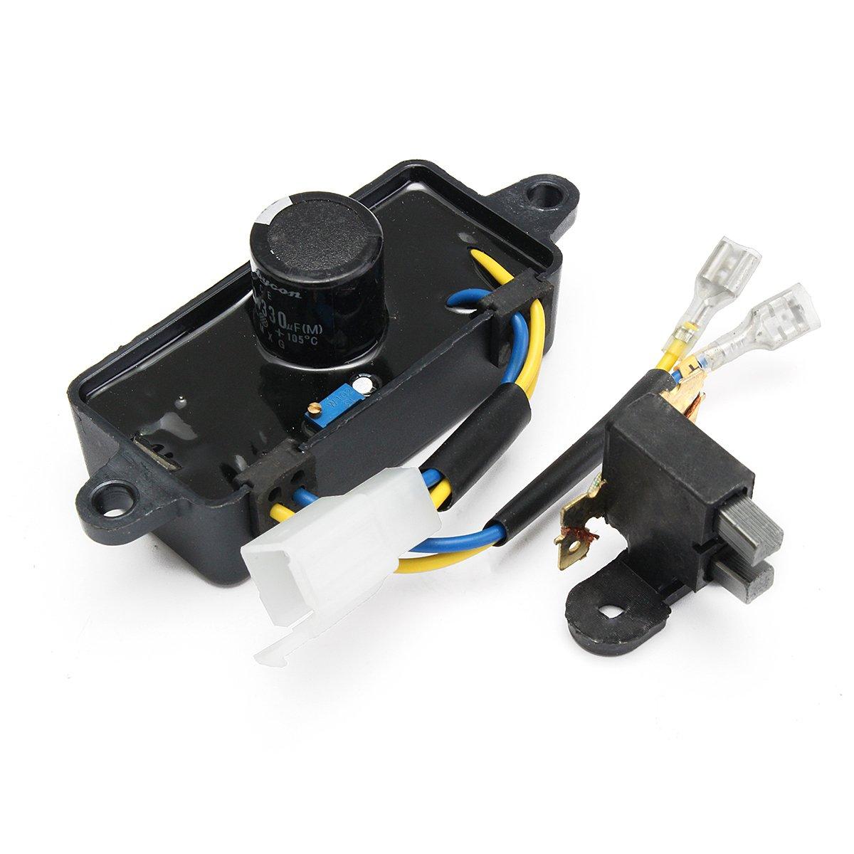 MASUNN 2-3KW Rectangle Automatic Voltage Regulator Rectifier Petrol Generator