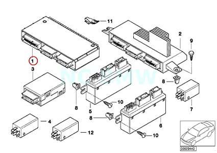 Amazon Com Bmw Genuine Basic Module 3 Automotive