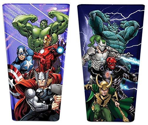 Avengers - Avengers & Villains Pint Glass Set