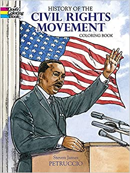 History of the Civil Rights Movement Coloring Book Dover History