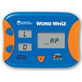 Learning Resources Word Whiz Electronic Flash Card,Multi-color,5 L x 4 W in