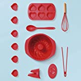 Assadeira Cupcake e Muffin Coração, Mor, Pacote de 1