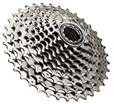 Shimano Deore CS-HG62-10 10 Speed Bicycle Cassette, Silver