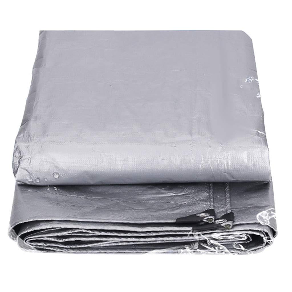 2mx2m BÂche BÂches sans Couture Pare-Soleil BÂches Isolation extérieure en Tissu Anti-Pluie pour Toiles Sun Prougeection Durable pour Tout Usage