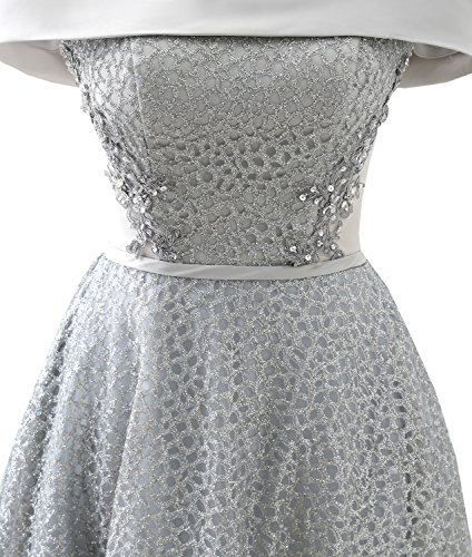 Party gray Dress Gown Juniors 2018 15425 Short Clearbridal for Prom Homecoming CqEWI47vw