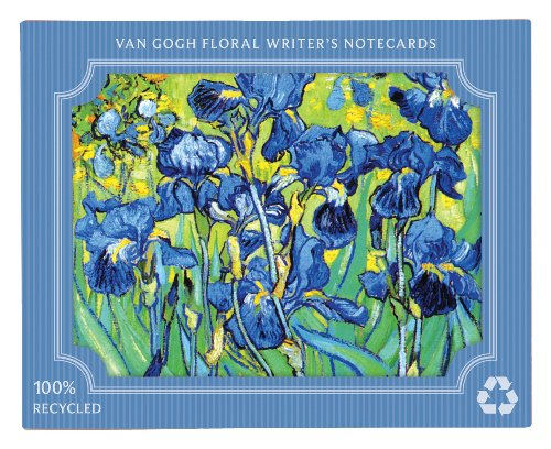 Van Gogh Floral Eco Writer's Notecards by Galison