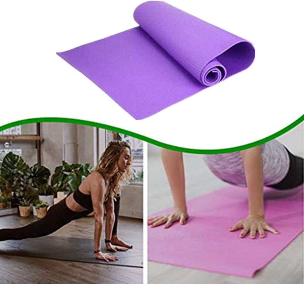 Cheekbonny Colchoneta de Yoga Gimnasio meditaci/ón Alfombrilla de Entrenamiento Duradera Antideslizante colchoneta de Ejercicios Extra Gruesa Pilates Coj/ín extralargo para Yoga