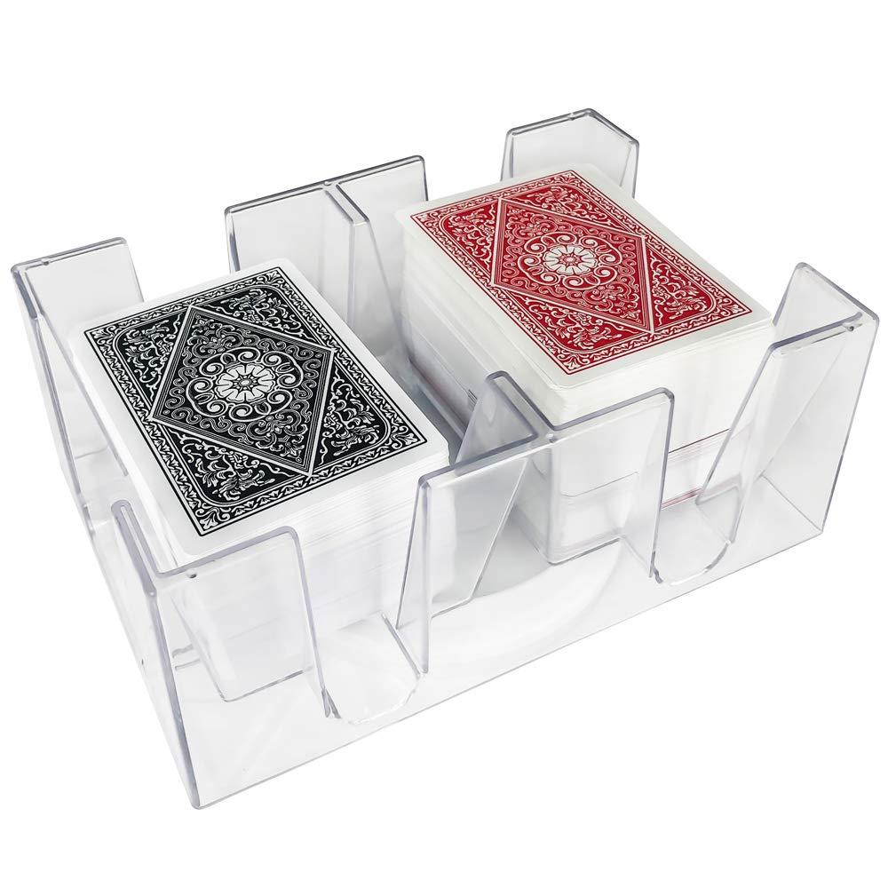 Amazon.com: YH Poker - Bandeja giratoria para canasta con 6 ...