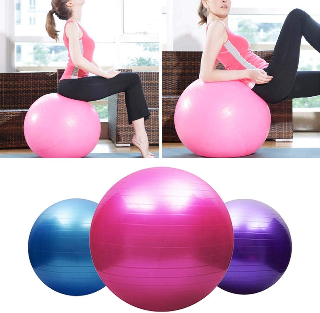Amazon.com: Fashion Life 75cm Pelota Balls Yoga Sports Yoga ...