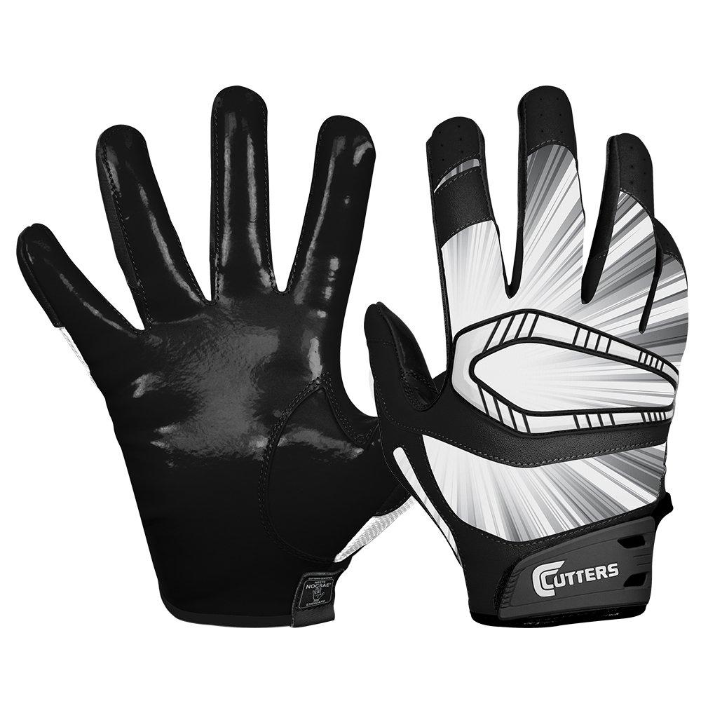 Cutters Gloves REV Pro Receiver Glove (Pair), Black, Large