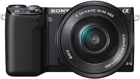 Sony NEX5R - Cámara Evil de 16.1 MP (Pantalla de 3