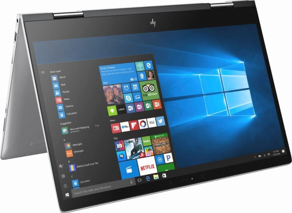 "HP ENVY x360 2-in-1 Convertible Micro-Edge Flagship 15.6"" FHD Touchscreen Backlit Keyboard Laptop 