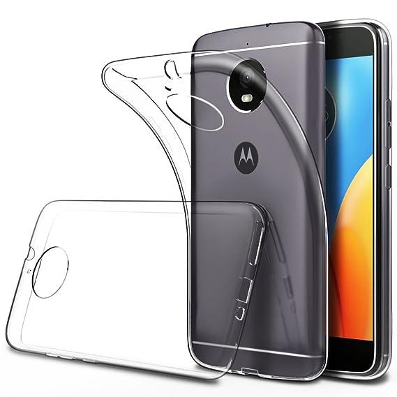 72eb2935720 Simpeak Funda para Moto E Plus/Motorola XT1772, Fundas Transparente Motorola  Moto E Plus