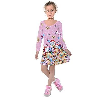 b3e351d07af49 Amazon.com: PattyCandy 2YRS-13YRS Little Girls Cute Thanksgiving ...