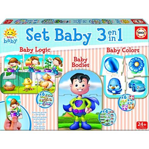 Educa Borras 17058.0 - Set Baby 3 En 1