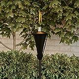 """Pure Garden 50-222 Outdoor Torch Lamp-45"""" Metal"""