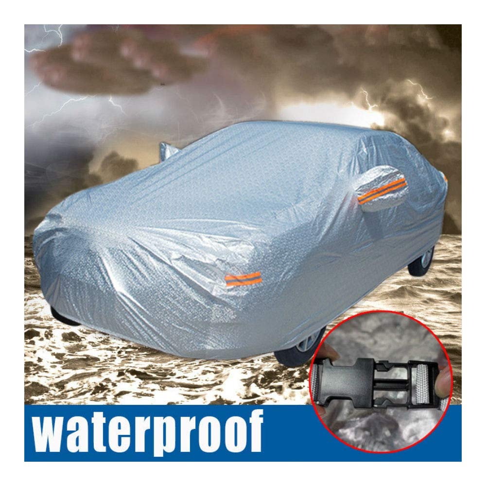17ft SUV Full Car Cover Waterproof Snow Rain Resistant All Weather ...