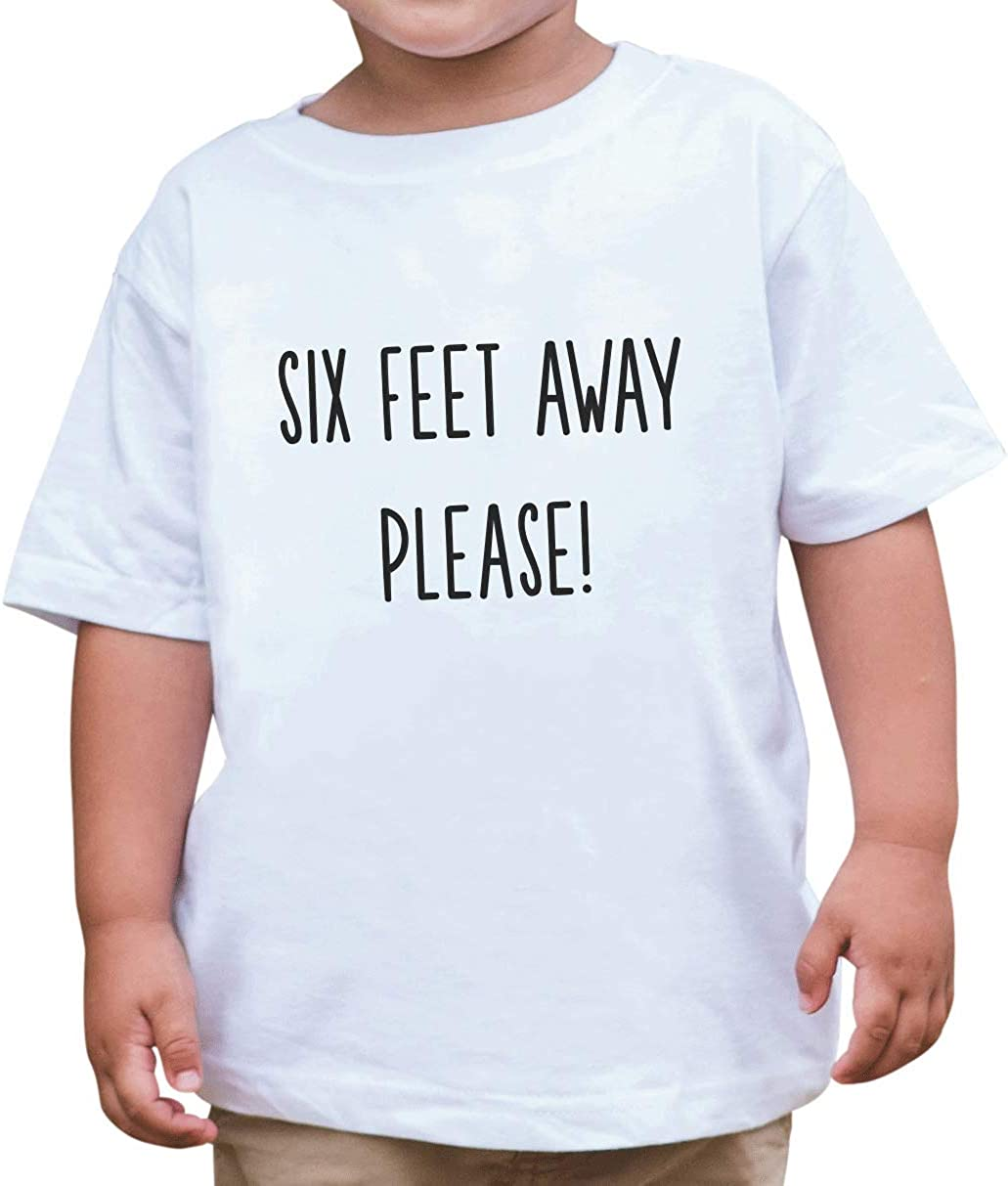 7 ate 9 Apparel Kids Funny Social Distancing Quarantine Outfit